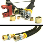 Fuel - Hose Replacement Deluxe Kit - Porsche 944 (Early & Late)